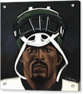 Mike Vick Acrylic Print by L Cooper