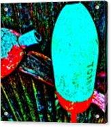 Mike's Art Fence 126 Acrylic Print