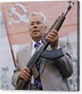 Mikhail Kalashnikov, Russian Gun Designer Acrylic Print