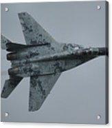 Mikoyan-gurevich Mig-29as  Acrylic Print by Tim Beach