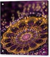 Mikroskopic I Acrylic Print by Sandra Hoefer