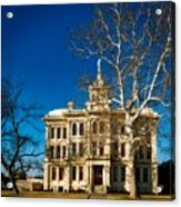 Milam County Courthouse Acrylic Print