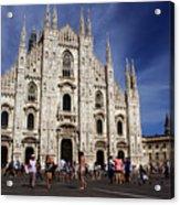Milan Cathedral Acrylic Print by Milan Mirkovic