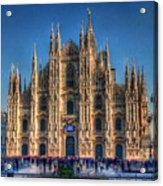 Milan Duomo Acrylic Print