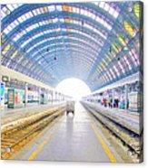 Milan Train Station Acrylic Print