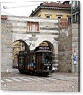 Milan Trolley 5 Acrylic Print