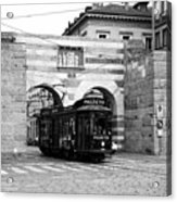 Milan Trolley 5b Acrylic Print
