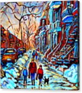 Mile End Montreal Neighborhoods Acrylic Print