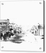 Miles City 1883 Acrylic Print