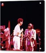 Miles Davis Image 9  With Bob Berg  Acrylic Print