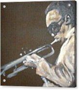 Miles I Acrylic Print