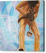 Miles Davis  In A Yellow Suit Acrylic Print