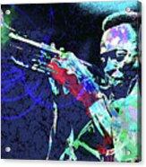 Miles Jazz Acrylic Print
