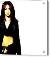 Miley Cyrus 8b Acrylic Print