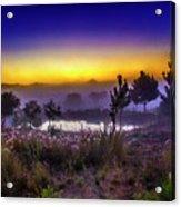 Milfontes Sunrise Acrylic Print
