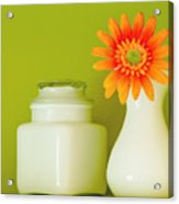 Milk Glass Acrylic Print