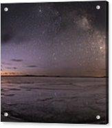 Milky Way At Nautical Twilight Acrylic Print