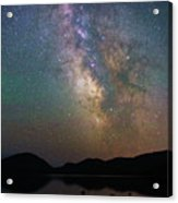 Milky Way Eagle Lake Acrylic Print