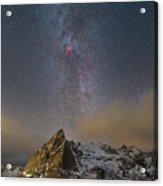 Milky Way In Lofoten Acrylic Print