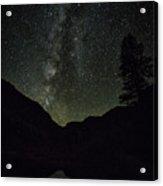 Milky Way Lee Vining Area 2 Acrylic Print