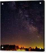 Milky Way, Moultonborough, Nh Acrylic Print