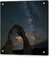 Milky Way Over Delicate Arch Acrylic Print
