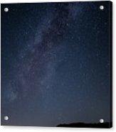 Milky Way Over Lake Henshaw Acrylic Print