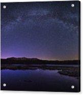 Milky Way Over Lonesome Lake Acrylic Print