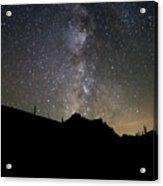 Milky Way Over Mcgown Peak Acrylic Print