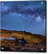 Milky Way Over Mesa Arch Acrylic Print