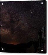 Milky Way Over Navajo Loop Trail Acrylic Print