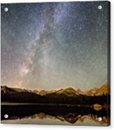 Milky Way Over The Colorado Indian Peaks Acrylic Print