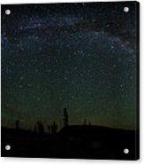 Milky Way Panorama Acrylic Print