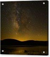 Milky Way Refection Acrylic Print