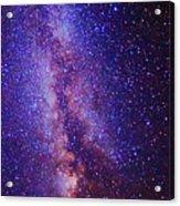 Milky Way Splendor Vertical Take Acrylic Print