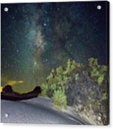 Milky Way White Sands Acrylic Print