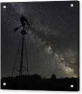 Milky Way Windmill  Acrylic Print