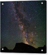 Milkyway Over Chief Mt Acrylic Print