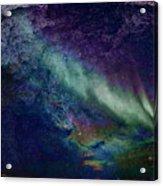 Milkywaynorthernlights Acrylic Print
