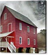 Mill At Whitewater Cree Acrylic Print