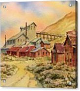 Mill Bodie Ghost Town California Acrylic Print