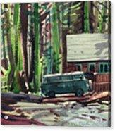 Mill Creek Camp Acrylic Print