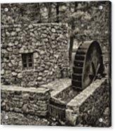 Mill Creek Water Wheel Acrylic Print
