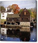 Mill Reflections Acrylic Print