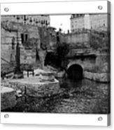 Mill Ruins Acrylic Print