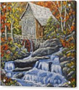 Mill Scene 03 Acrylic Print