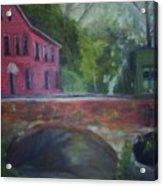 Mill Street Plein Aire Acrylic Print