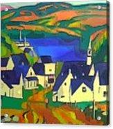 Mill Town, Quebec Acrylic Print
