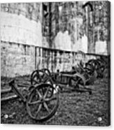 Mill Wheels Acrylic Print
