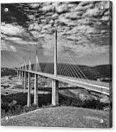 Millau Bridge France Acrylic Print